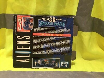 Aliens Pop Up 3D space base by Kenner 1992 ZONE 3