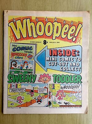 WHOOPEE! Comic + Cut-Out Mini WHIZZER & CHIPS - 15 July 1978