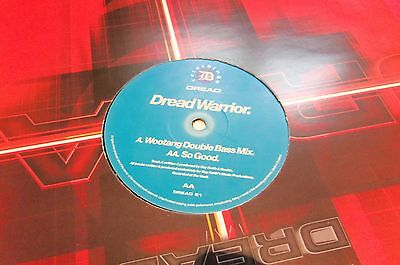 Dread Warrior ‎– Wootang (Double Bass Mix) / So Good - Dread Recordings - NOOKIE