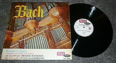 Md 9006 - J.s.bach - Toccatas And Fuges - Schneider