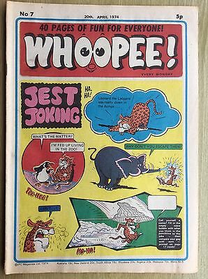 WHOOPEE! Comic - Issue No. 7 - 1974