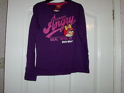 Angry Birds Long Sleeve T-Shirt Age 10