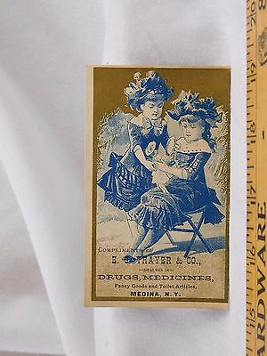 E. G. Thayer & Co Drugs Medicines Fancy Goods Adorable Girls Doctoring Doll F42