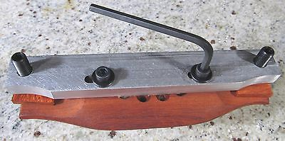 Acoustic Guitar Bridge Install Clamp USA Luthier Made Modified Sloane Design