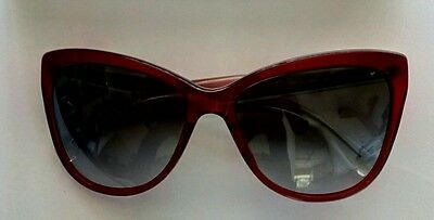 Dolce & Gabbana sunglasses women's red cat eye genuine excellent used condition