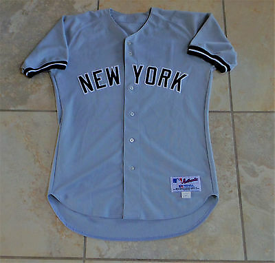 New York Yankees Game Used Worn Jersey - Alfonso Soriano