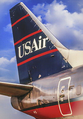 """USAir Airlines Tail Logo Fridge Magnet 3.25""""x2.25"""" Collectibles (PMCT4010)"""