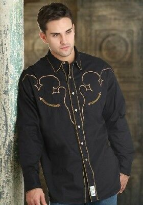 Camicia Country -  Phs Retro - Mens Ls Snap-Lone Star