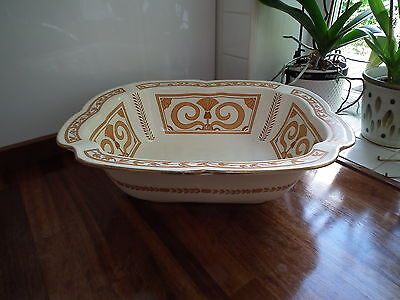 Large Doulton Burslem Rectangular Basin / Bowl (1891 - 1902) US Patent
