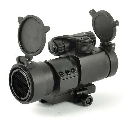 Black M2 Style with Low Mount 1X32 Red Dot Scope + Kill Flash