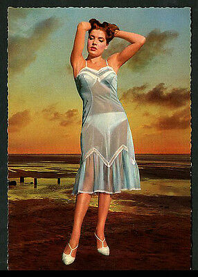 German RISQUE Lingerie Fantasy Surreal C-Thru Negligee 1960s ~ RECENT Arrival