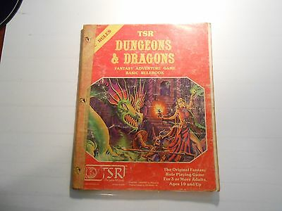 Dungeons and Dragons Basic Rule Book by Gary Gygax (1981, Paperback) LOOK!!!