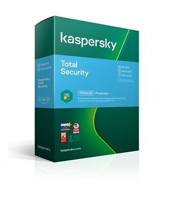 Kaspersky Total Security 2020 3 Devices PC 1 Year 365 Days Email license key
