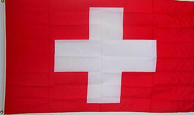 SWITZERLAND SWISS COUNTRY BANNER FLAG NEW 3ftx5ft