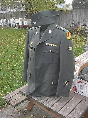 US Army uniform coat hat Arizona National Guard  MP