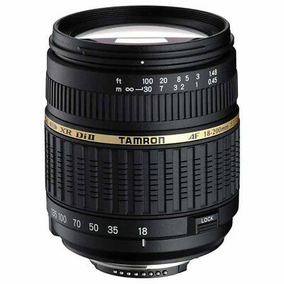 New Tamron 18-200mm AF F3.5-6.3 XR Di II (Sony A-Mount) - Re-marketed Stock - 2y