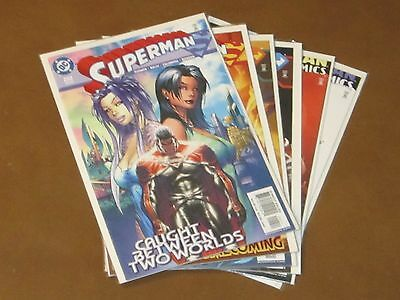 Superman Godfall #1 - 6 Nm Complete Run Set Michael Turner Covers Action Krypton