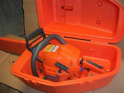 """Husqvarna 340 Chainsaw With 20"""" Bar And Carrying Case Very Nice Saw"""