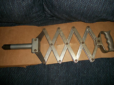Vintage Prg 440 Lazy Tong Rivet Tool *** Clean And Ready