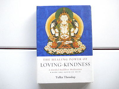 Tulku Thondup's The Healing Power of Loving-Kindness Audio Book CD/3 box set