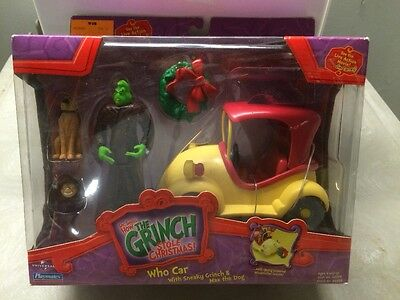 How the Grinch stole Christmas WHO CAR with Grinch and Max the Dog
