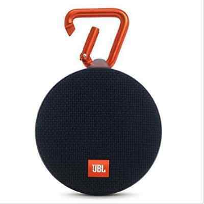 New JBL Clip 2 Waterproof Bluetooth Speaker -Black