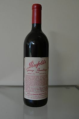 Penfolds Grange Hermitage Shiraz 1984 ~ Clinic approved & certified