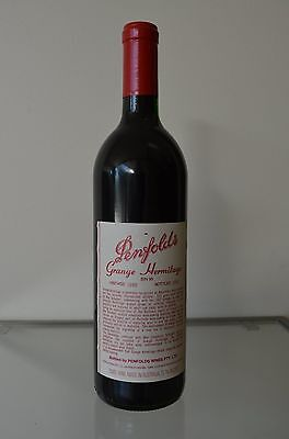 Penfolds Grange Hermitage Shiraz 1986 ~ Clinic approved & certified