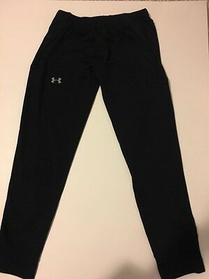 Under Armour All Season Gear Black Athletic Pants Child's Size XS