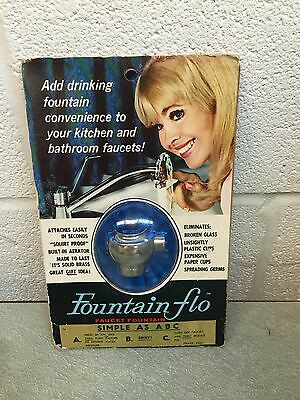 Vintage Fountain Flo Faucet Fountain by Standard Screw Company USA