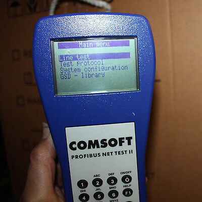 Comsoft Profibus  Net Test 2 Network Line Tester