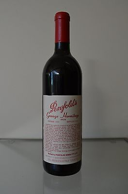 Penfolds Grange Hermitage Shiraz 1988 ~ Clinic approved & certified