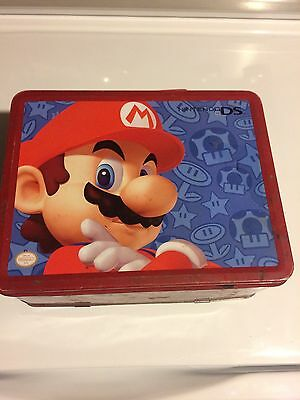 Mario Nintendo Lunch Box Metal Tin