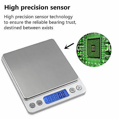 3kg/0.1g Digital Scale Kitchen Food Jewelry Balance Weight Scales LCD Electronic