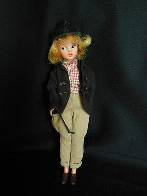 1960's Pedigree Sindy Doll in 1960's Sindy Pony Time Outfit