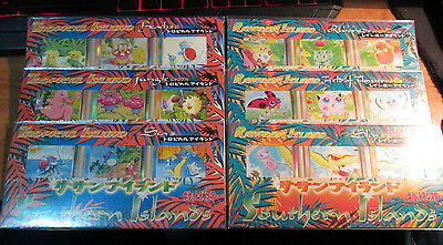 SEALED Japanese COMPLETE Pokemon TROPICAL/RAINBOW ISLAND Card PROMO Mew 151 TCG