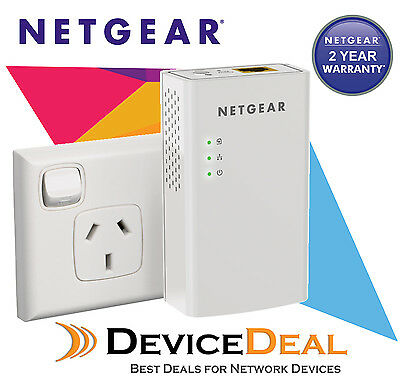 NETGEAR PL1000 1 Port Gigabit Ethernet Powerline Kit