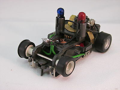 Aurora Afx 1 Magnatraction Police Overhead Lighted Chassis ~ Near Mint ~ Rare!