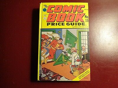 The Official Overstreet Comic Book Price Guide #15 Hardcover