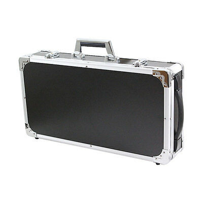 "Guitar Effect Pedal Board Case Storage Rack 19.7"" x 9.8"" Lightweight Solid"