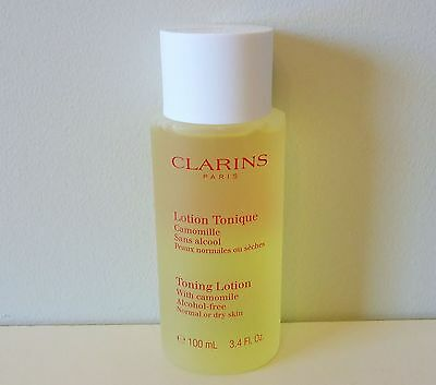 CLARINS Toning Lotion with Camomile, Alcohol-Free, 100ml, Brand New Sealed!!