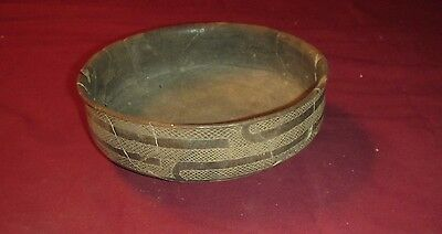 Authentic Ancient Native American Caddoan Indian Pottery Caddo Friendship Bowl