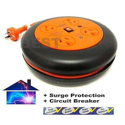 Workshop Surge Protector Power Board 5M Extension Cord
