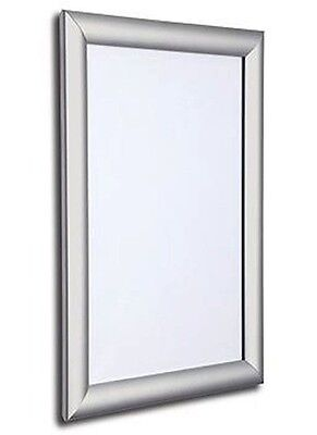 Seco SECO Front Load Easy Open Snap Poster Frame 24 x 36 Inches, Silver Anodised