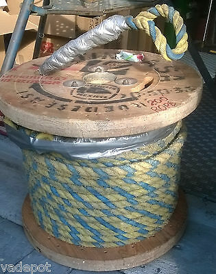 3/4 inch braided wire pulling rope close to 200'
