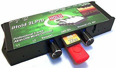 """Image Audio iHold A2LPro """"All-In-One"""" Professional 2-Line Music On Hold Player"""
