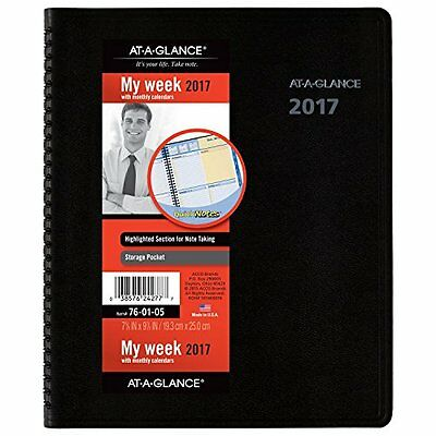 At-A-Glance AT-A-GLANCE Weekly / Monthly Appointment Book / Planner 2017,