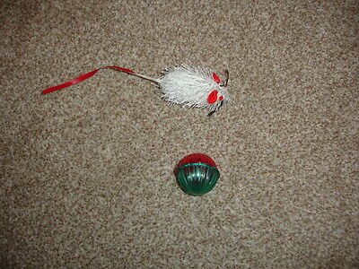 BN Cat Toys (1 Mouse & 1 Cat Ball)