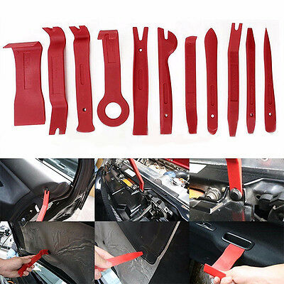 New 11pc Trim and Moulding Removal Bodyshop Garage Pro Tool Set Car Van