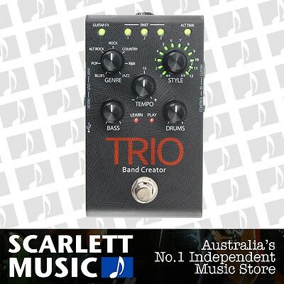 Digitech Trio Band Creator Effect Pedal *BRAND NEW*